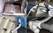 Подключение по всем правилам душевой кабины к канализации и водопроводу